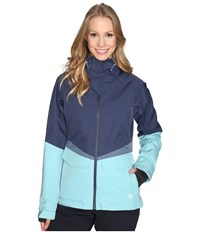 Mountain Hardwear Returnia Jacket Zinc Spruce Blue Women's Coat