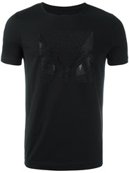 Fendi Crystal Bag Bugs T Shirt Black