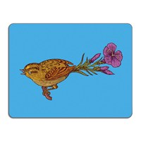 Avenida Home Puddin' Head Bird Table Mat Mr Bird
