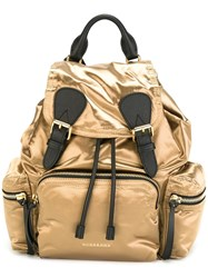 Burberry 'Zaino' Backpack Metallic