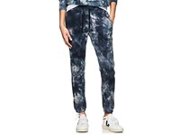 Nsf Sayde Tie Dyed Cotton Sweatpants Blue