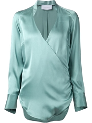 Strateas Carlucci Cross Over Front Blouse