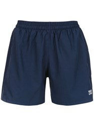 Track And Field Trainer Running Shorts Blue