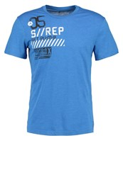 Your Turn Active Sports Shirt Electric Blue Neon Blue
