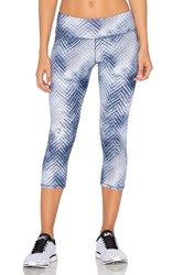 Rese Natalie Cropped Legging Blue