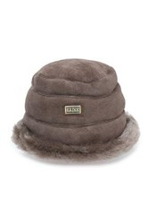 Australia Luxe Collective Shearling Hat Taupe