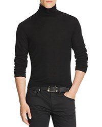 Vince Featherweight Wool Cashmere Turtleneck Sweater Black
