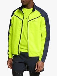 Ronhill Stride Windspeed 'S Running Jacket Fluo Yellow Charcoal