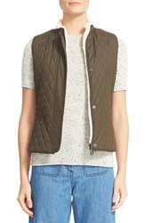 Belstaff Women's Westwell Reversible Faux Fur And Quilted Tech Vest