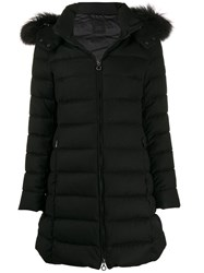 Tatras Padded Midi Coat Black