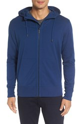 Good Man Brand Men's Microlight French Terry Hoodie Blue