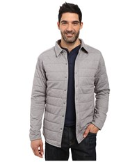 The North Face Long Sleeve Send It Shacket Zinc Grey Men's Coat Gray