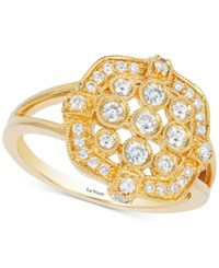 Le Vian Deco Estate Diamond Ring 1 2 Ct. T.W. In 14K Gold Yellow Gold