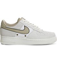Nike Air Force 1 Lv8 Leather Trainers Sail Linen