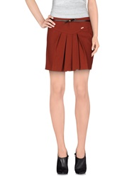 Aniye By Mini Skirts Rust