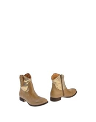 Apepazza Ankle Boots Sand