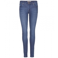 Burberry Low Rise Skinny Jeans Denim Blue