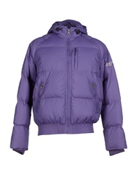Replay Down Jackets Purple