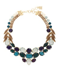 Bcbgmaxazria Jewel Toned Statement Necklace Blue