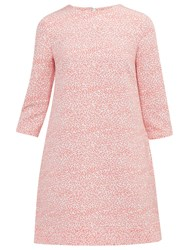 Ted Baker Colour By Numbers Jiggle Fish Print Shift Dress Coral