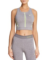 Nike Pro Hypercool Cropped Tank Gunsmoke Green