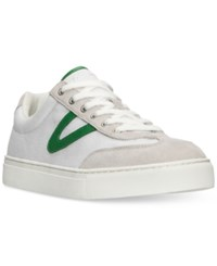 Tretorn Men's Josh Casual Sneakers From Finish Line Vintage White Ice Green