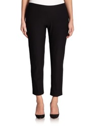 Eileen Fisher Plus Size Slim Stretch Ankle Pant Black
