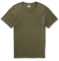 Nn.07 Pima Cotton Jersey T Shirt Green