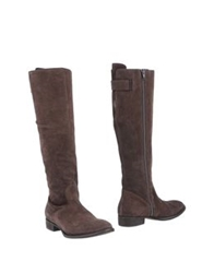 Emma Lou Boots Dark Brown