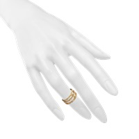 Joanna Laura Constantine Three Rows Knuckle Ring
