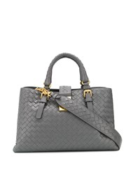 Bottega Veneta Small Roma Tote Grey