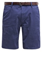 S.Oliver Shorts Plum Blue
