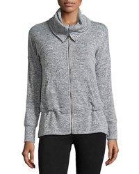 Marc New York Funnel Neck Dolman Jacket Grey Marle