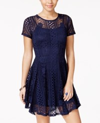 American Rag Lace Fit And Flare Dress Only At Macy's Eclipse