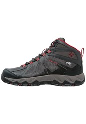 Columbia Peakfreak Xcrsn Ii Xcel Outdry Walking Boots City Grey Bright Red
