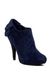 Impo Pippy Platform Ankle Bootie Blue