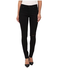 Obey Lean Mean Classic Pants Black Slashed Women's Casual Pants