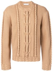 J.W.Anderson Jw Anderson Cable Knit Jumper Neutrals