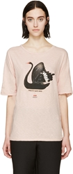 Undercover Pink Pretty Hate Bird T Shirt