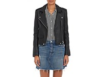 Iro Women's Ashville Leather Moto Jacket Black
