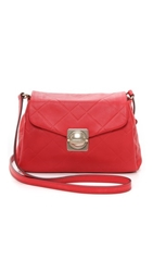 Marc By Marc Jacobs Circle In Square Scored Messenger Bag Cambridge Red