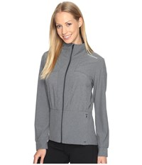 Brooks Fremont Jacket Heather Asphalt Women's Coat Gray