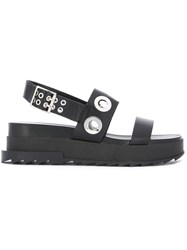 Diesel Dyeletta Sandals Black