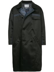 Yoshiokubo Reversible Trench Coat Black