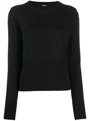 Aspesi Fine Knit Jumper Black