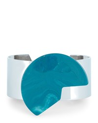 Jaeger Resin Cut Out Disc Cuff