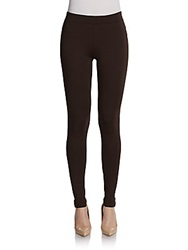 Vince Scrunch Ankle Leggings Chocolate