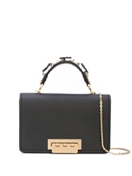 Zac Posen Earthette Shoulder Bag Black