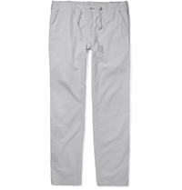 Hartford Cotton Trousers Gray