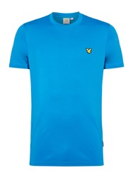Lyle And Scott Men's Sports Crew Neck Short Sleeve T Shirt Cobalt
